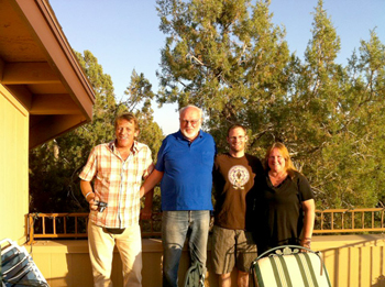 Natural Action Technologies and Agua Estructurada Buisness meeting june 2012 Arizon Campverde & Sedona
